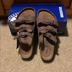 Birkenstock Florida Habana size 6 normal